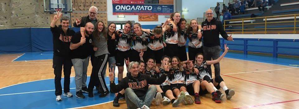 San Gabriele Milano Under16 F Elite: le tigrotte compiono l'impresa, vincono lo spareggio con Muggia e volano all'interzona