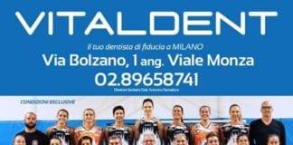 Grazie al nuovo sponsor Vitaldent Milano, si potrà seguire in diretta streaming la partita…
