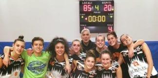 SangaUnder20 sale sull'OTTOvolante battendo Basket Stars 85-20 nell'ottava vittoria in otto partite di campionato