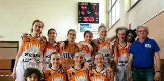 U14 vince con l'ottima Giussano e si qualifica nelle otto migliori Lombarde. Adelante!!! ️