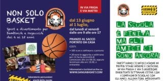 Straordinaria iniziativa quest'anno del SANGA Milano che organizza tre setttimane di DAY CAMP in…