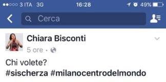 Ahahaha speriamo ci porti fortuna domenica ️ Chiara Bisconti