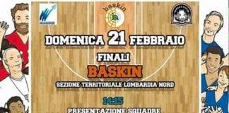 RAGAZZI STAY stiamo organizzando le Finali di Baskin al Pala Benvenuto a chi vuole…