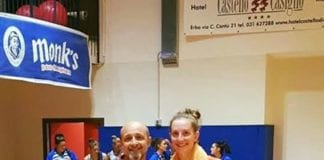 Martina Picotti miglior giocatrice del Sanga alla Coppa Lombardia! Brava Marti! #SangaBabyPower