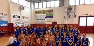 Ancora una vittoria e ancora un Trofeo nella Sanga Bacheca. Trofeo Pasquini U14 Sanga-Crema=38-27…