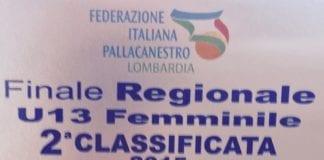 U13 Vice Campionesse Lombarde!!! Una cavalcata stupenda per un gruppo meraviglioso ️
