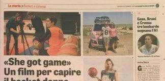 Il Capitano Silvia Gottardi oggi sulla Gazzetta dello Sport per parlare del suo docu-film…