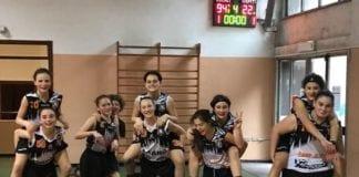 Domenica altra vittoria per le nostre u13 Sanga-Crema 94-22 Bravissime ragazze!!!