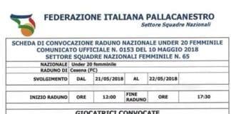 È con grande orgoglio che possiamo comunicare la chiamata al raduno della nazionale italiana…