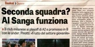 Il metodo Sanga funziona. Oggi su La Gazzetta dello Sport Tramo Group IL PONTE…