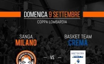 Domani alle il Sanga Milano sfiderà il Basket Team Crema nella sua prima partita…