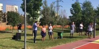 Stamattina all'inaugurazione intervengono Pierfrancesco Maran @Noemi Satta @Cecilia Di Gaddo e Franz Pinotti