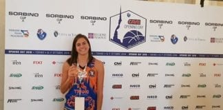 La nostra capitana Giulia Trianti presente alla presentazione della open day campionato a1 e…