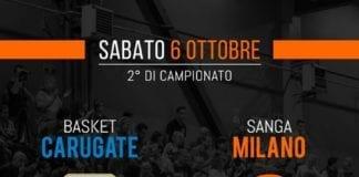 ️ Domani tutti a tifare Sanga per il secondo impegno stagionale contro Basket Carugate!…