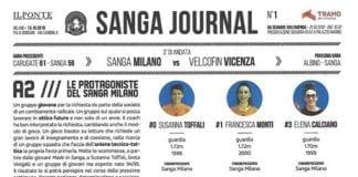 Eccole!!!!!!! The Sixteen Wonder Sanga Girls!!!!!!! IL PONTE CASA D'ASTE Tramo Group Lega Basket…