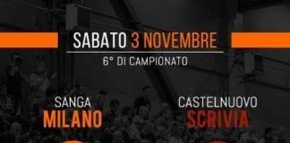 stasera alle ore 18 il Sanga sfiderà Castelnuovo Scrivia, squadra ricca di giocatrici ex-Sanga.…