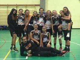 U16 femminile Bella partita delle nostre ragazze che vincono contro Varese 75-44 Brave ragazze…
