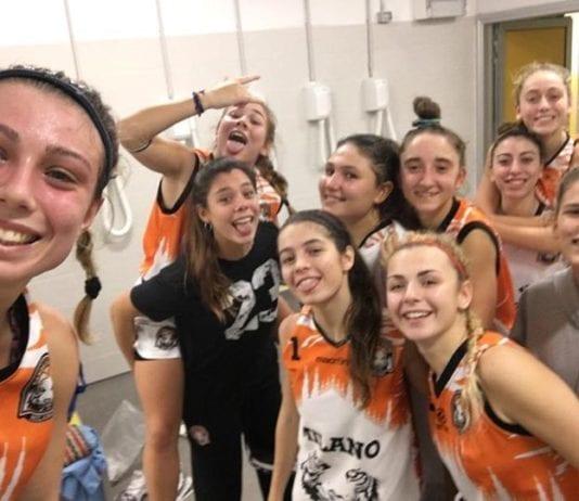 U18 Elite Sudatissima vittoria delle nostre ragazze che partono al rallentatore e poi allungano…