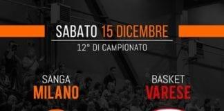 sfida delicata e importantissima per le ragazze del Sanga che stasera sfideranno Varese in…