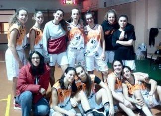 U16 femminile Vincono le nostre ragazze una partita combattuta e vanno ad un passo…