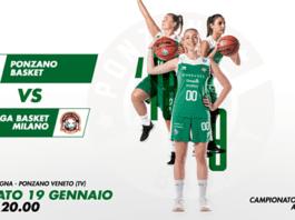 Diretta Streaming dalle ore Ponzano Basket – IL PONTE CASA D'ASTE SANGA MILANO sulla…
