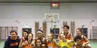 U13 femminile Corsico-Sanga 54-57 Gran partita delle nostre bimbe 2006 che vincono a Corsico…