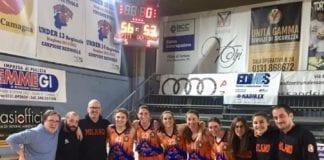 Siiiii vintooooooo difficilissima ma bellissima vittoria a Tortona 53-56 ️ #sangaunforgettable Lega Basket Femminile…
