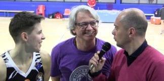 Interviste post gara con Susanna Toffali e Coach Franz Pinotti Sanga MI-BOLZANO Alp=68-62