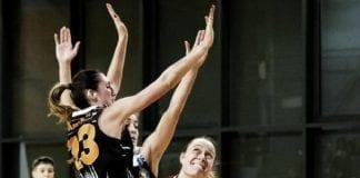 SANGA Milano shared Basket Club Bolzano's post