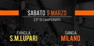 ️ oggi trasferta a San Martino di Lupari per le ragazze del Sanga! palla…