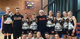 Giocano bene le U20 del Sanga Milano contro le pari età di Broni (73-36).…