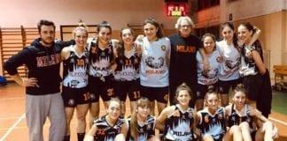 U20 Sanga Milano-Cucciago=80-29. Buona prova delle 12 Sanga Girls che si sono alternate in…