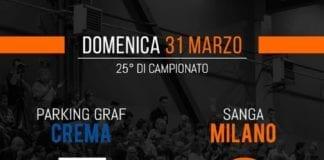 Stasera ore seguite l'impresa del Sanga contro Crema, direttamente dal sito della Lega Basket…