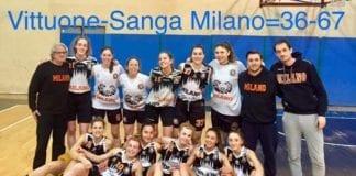 U20 A una giornata dalla fine della Fase Regolare, il Sanga Milano batte Vittuone…