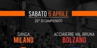Stasera ore tutti in Cambini a sostenere la serie A2 del Sanga Milano! Le…