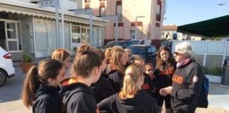 TORNEO DI PESARO Esordienti in giro per la città in attesa della partita!