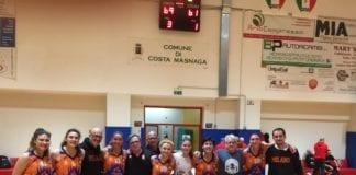 SANGA WONDER vince 69-61 a Costamasnaga 🤜🤛 UN GRUPPO INCREDIBILE che da Gennaio a…