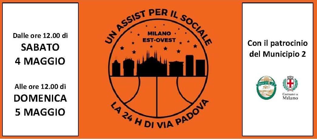 Calendario Aste Padova.Inizia Oggi La 24 Ore Di Via Padova Sanga Basket Milano